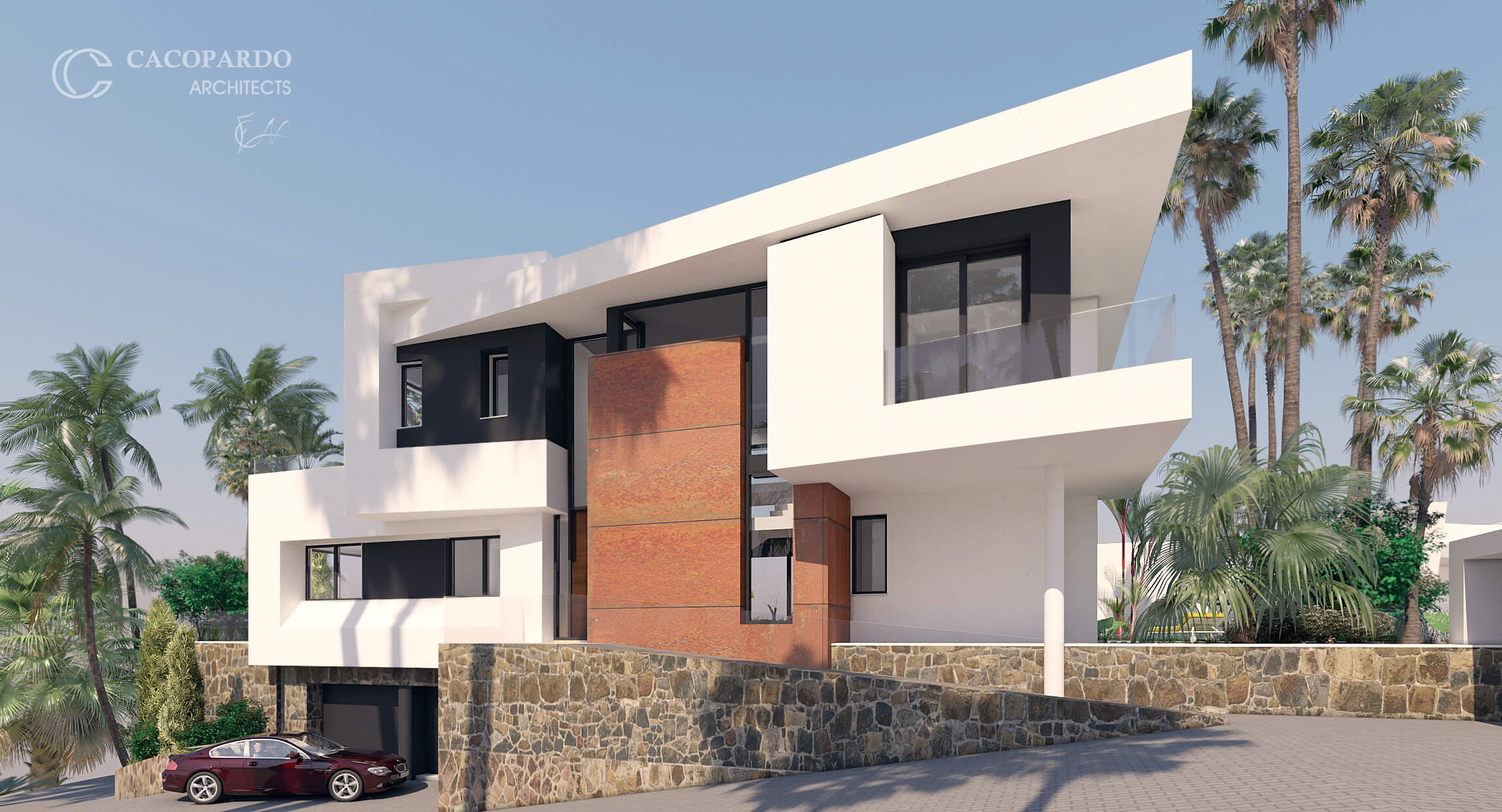 Villa 3, desde la Entrada, Urbanización Monteromero, La Cala de Mijas, Costa del Sol, Málaga